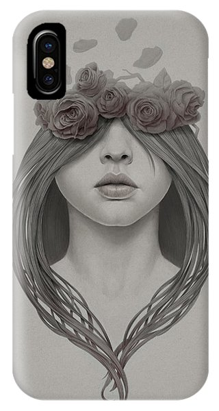 Hair iPhone Case - 214 by Diego Fernandez