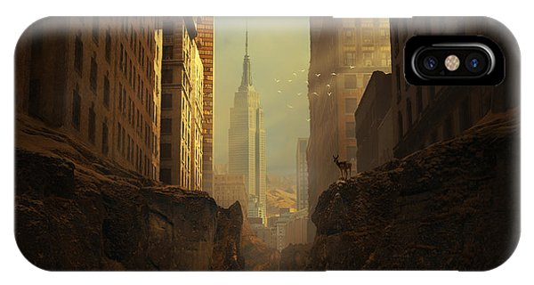 Building iPhone Case - 2146 by Michal Karcz