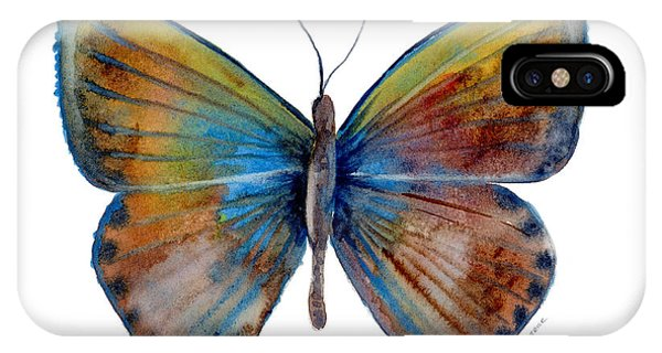 Moth iPhone Case - 22 Clue Butterfly by Amy Kirkpatrick