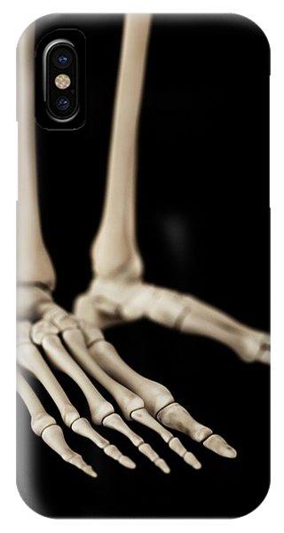 Human Foot Bones Phone Case by Sebastian Kaulitzki