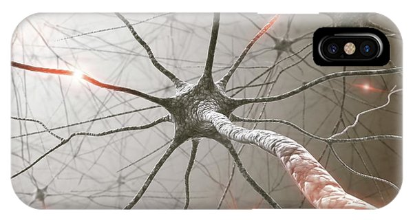 Neural Network Phone Case by Ktsdesign/science Photo Library