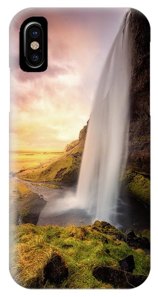 Flow iPhone Case - Untitled by David Mart??n Cast??n