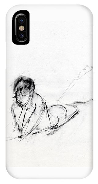Nudes iPhone X Case - Rcnpaintings.com by Chris N Rohrbach