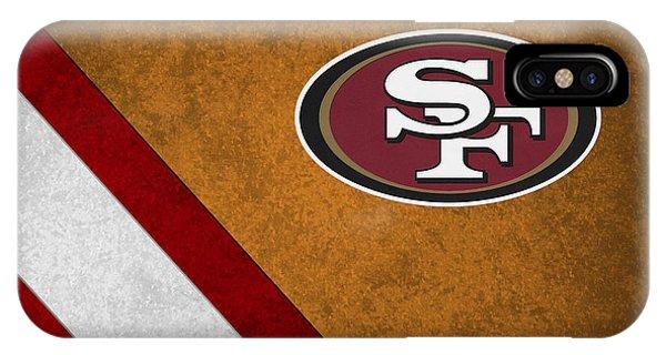 Sports iPhone Case - San Francisco 49ers by Joe Hamilton
