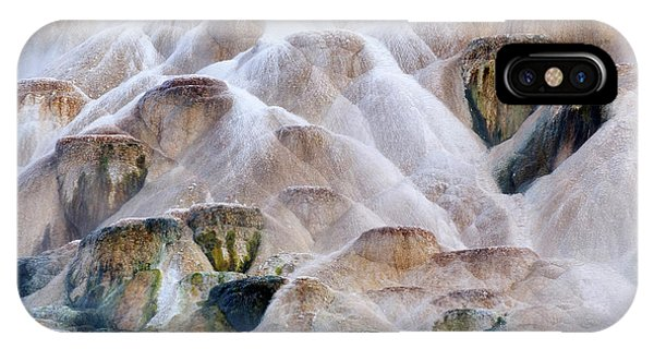 Mammoth Hot Springs iPhone Case - Usa, Wyoming, Yellowstone National Park by Jaynes Gallery
