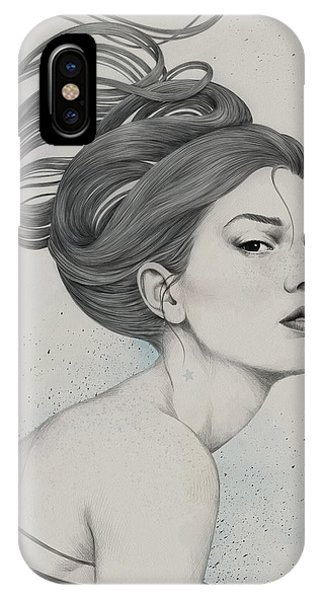 Hair iPhone Case - 230 by Diego Fernandez