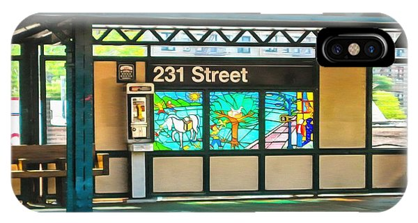 231 Street Subway IPhone Case