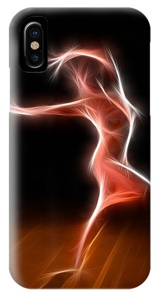 2376 Energy Work Nude Dancer IPhone Case