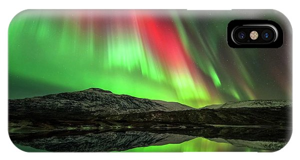 Physical iPhone Case - Aurora Borealis by Tommy Eliassen