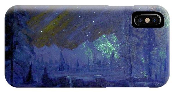 Cosmic Light Series IPhone Case