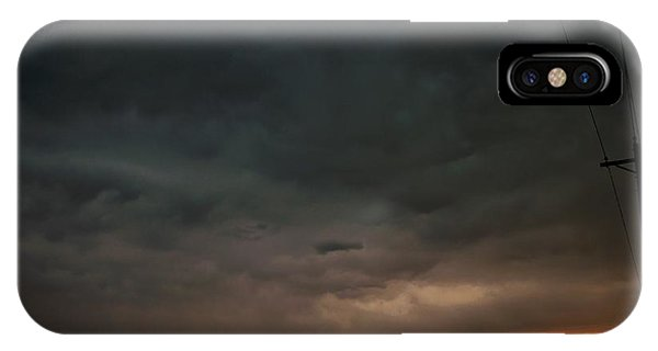 iPhone Case - Let The Storm Season Begin by NebraskaSC