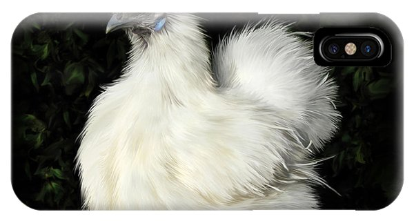 24. Tiny White Silkie IPhone Case