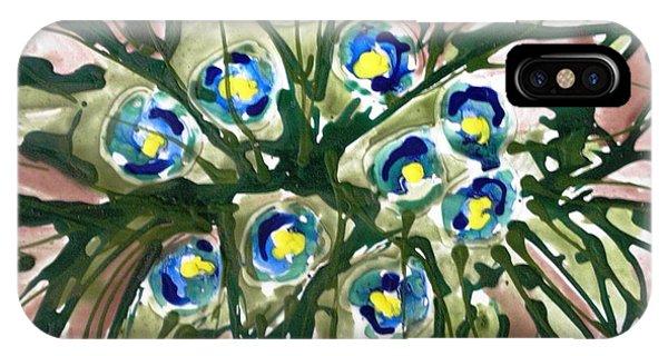 Zenmoksha Flowers Phone Case by Baljit Chadha