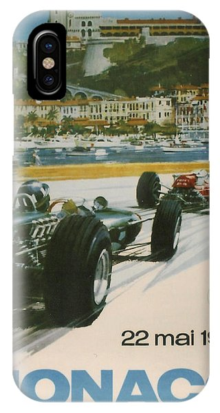 24th Monaco Grand Prix 1966 IPhone Case