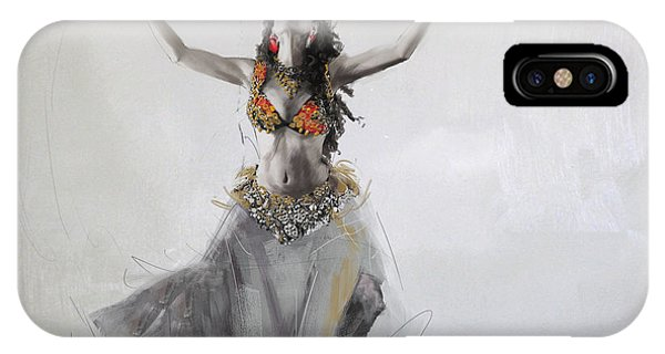 Corporate Art Task Force iPhone Case - Belly Dancer 5 by Corporate Art Task Force