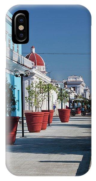 Cuba, Cienfuegos Province, Cienfuegos Phone Case by Walter Bibikow