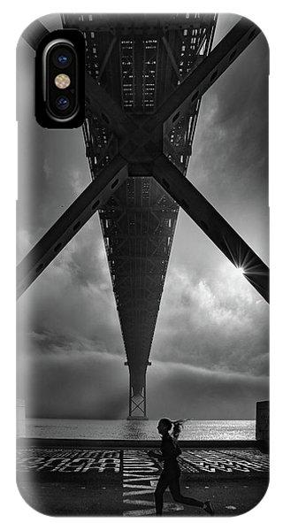 Portugal iPhone Case - 25 De April  Bridge by Fernando Jorge Gon?alves