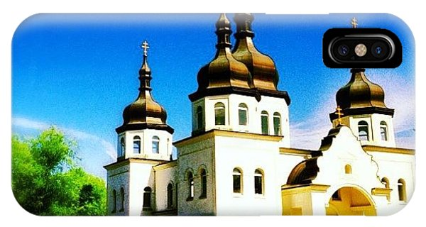 Religious iPhone Case - Ukranian Orthodox Church by Heidi Hermes