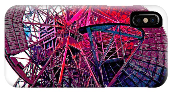 26 East Antenna Abstract 4 IPhone Case