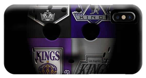 Puck iPhone Case - Los Angeles Kings by Joe Hamilton