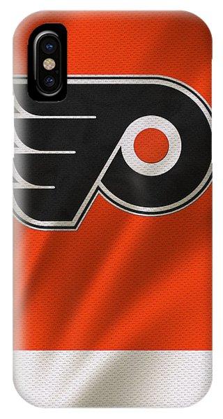 Puck iPhone Case - Philadelphia Flyers by Joe Hamilton