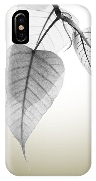Leave iPhone Case - Pho Or Bodhi by Atiketta Sangasaeng