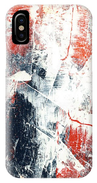 Moving On - Contemporary Abstract Painting IPhone Case