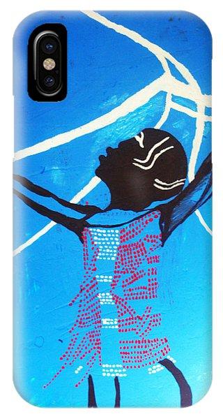 Dinka Dance - South Sudan IPhone Case