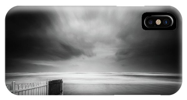 Fence iPhone Case - Untitled by Massimo Della Latta