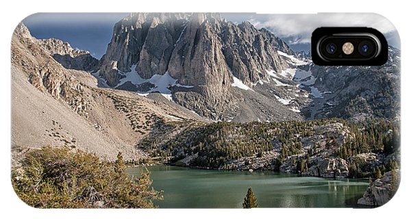 2nd Lake And Temple Crag IPhone Case