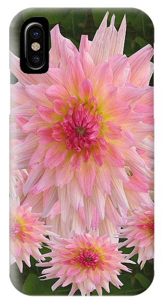 Abstract Flower Floral Photography And Digital Painting Combination Mixed Media By Navinjoshi       IPhone Case