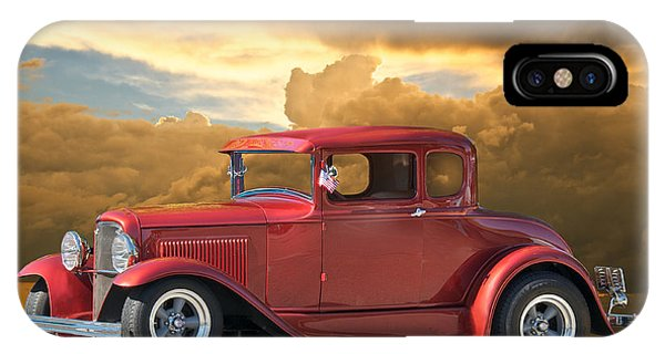 1931 Ford Model A Coupe Phone Case by Dave Koontz