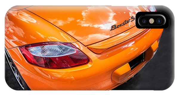 2008 Porsche Limited Edition Orange Boxster  IPhone Case