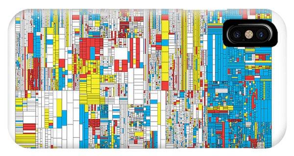 3628 Digits Of Pi Phone Case by Martin Krzywinski