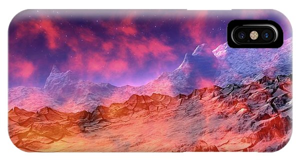 Alien Planet Phone Case by Victor Habbick Visions/science Photo Library