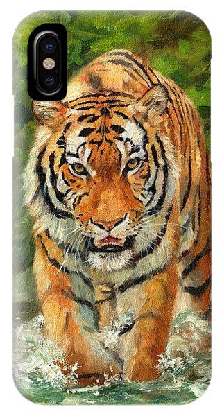 Amur Tiger Painting IPhone Case