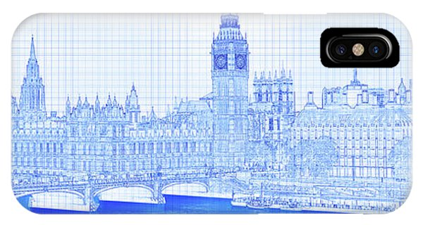 iPhone Case - Arch Bridge Across A River, Westminster by Panoramic Images