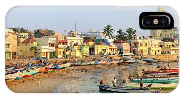 Asia, India, Tamil Nadu, Kanniyakumari Phone Case by Steve Roxbury