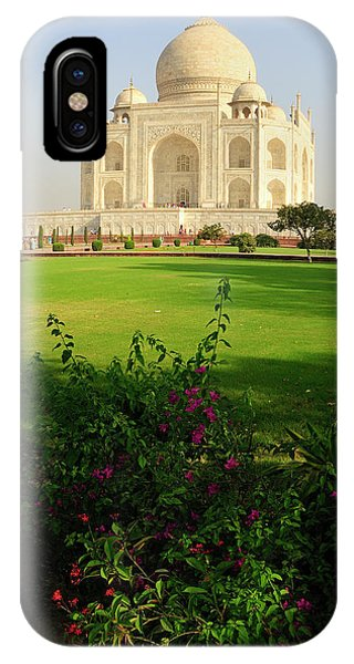 Roxbury iPhone Case - Asia, India, Uttar Pradesh, Agra by Steve Roxbury