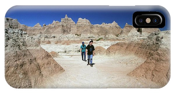 North Dakota Badlands iPhone Case - Badlands National Park by Jim West