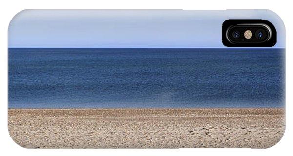 Color Bars Beach Scene IPhone Case