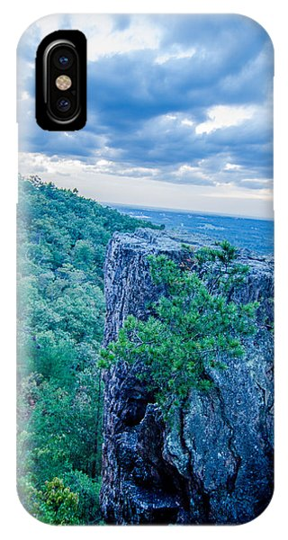 Beautiful Aerial Landscape Views From Crowders Mountain Near Gas IPhone Case