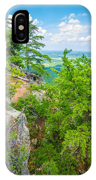 Beautiful Aerial Landscape Views From Crowders Mountain North Ca IPhone Case