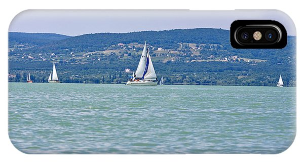 Beautiful Lake Balaton  IPhone Case