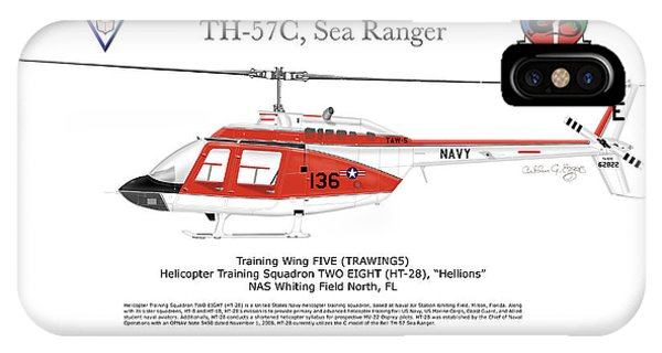 Bell Th-57c Sea Ranger IPhone Case