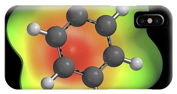 Benzene Aromatic Hydrocarbon Molecule IPhone Case