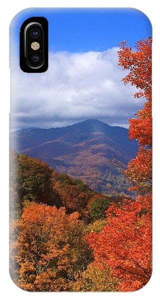 Blue Ridge Fall IPhone Case