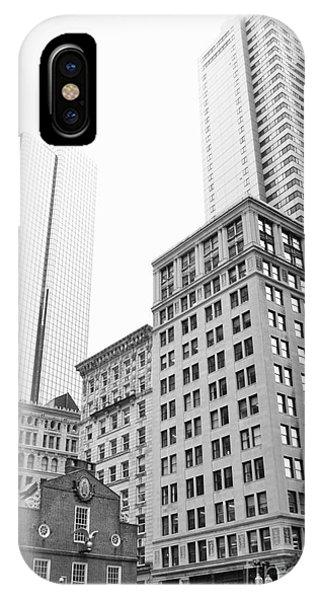 Boston Cityscape IPhone Case