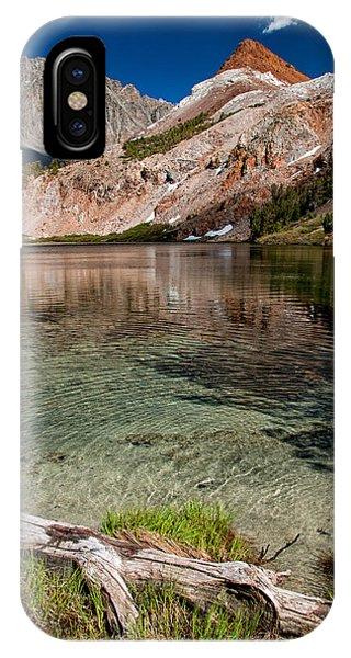 Bull Lake And Chocolate Peak IPhone Case