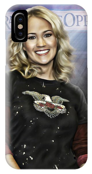 Ryman Auditorium iPhone Case - Carrie Underwood by Don Olea